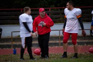 Esslingen Raccoons Coach Frank Bechinger